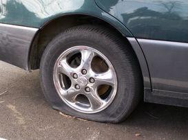 Flat tyre sydney
