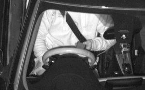 Driver caught using phone.